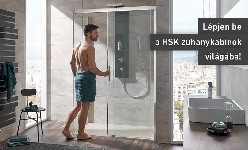 Lépj be a HSK zuhanykabin világába!